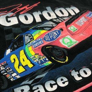 1996 NASCAR T-Shirt Jeff Gordon Vintage Tee Rare
